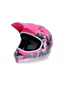 Startseite  X-treme Kinder Cross Helm - Pink
