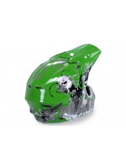 Zubehör  X-treme Kinder Cross Helm - Grün