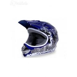 Kinderfahrzeuge  X-treme Kinder Cross Helm - blau